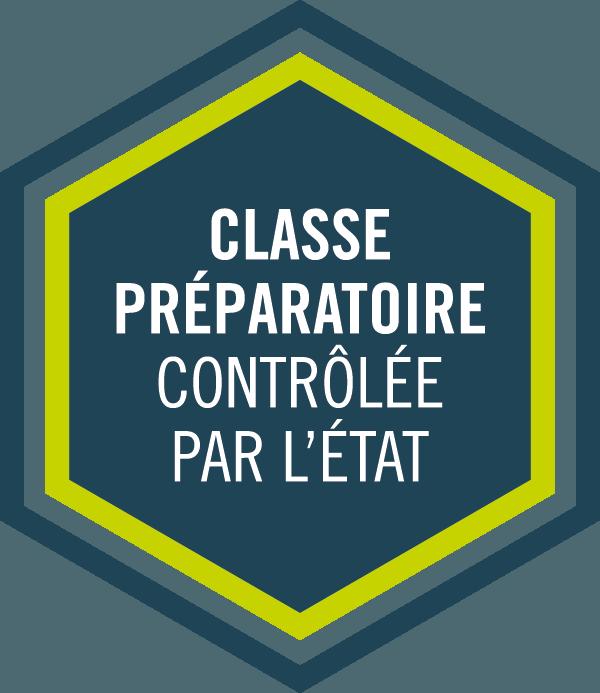 """Label """"Classe préparatoire contrôlée par l'Etat"""""""